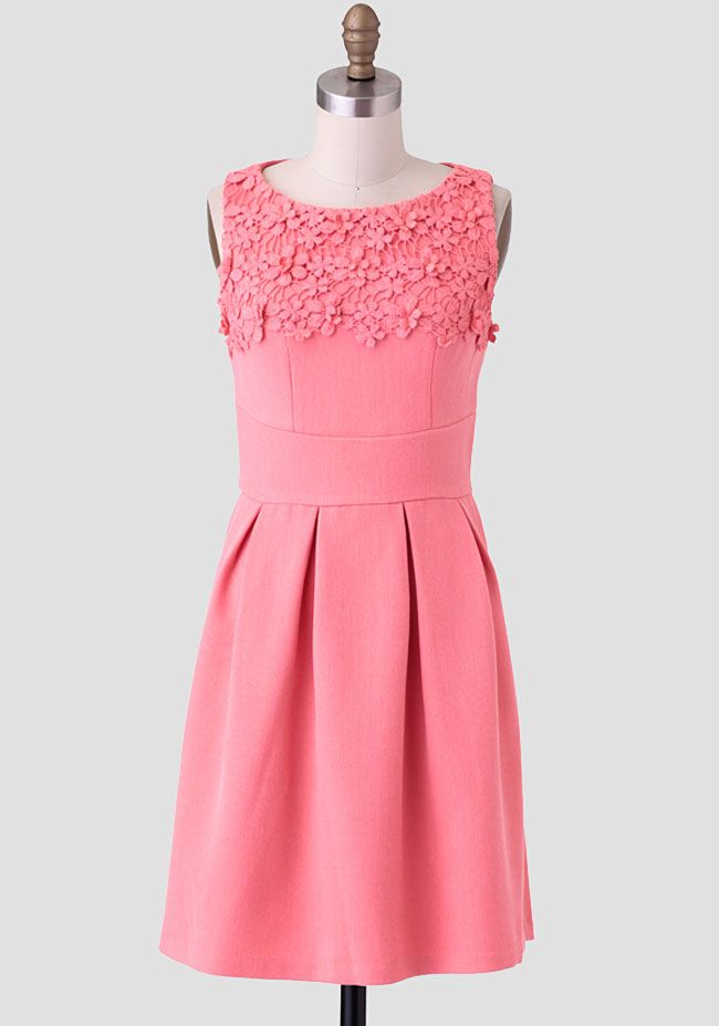 Julie Lace Accent Dress By Darling UK at #Ruche @shopruche