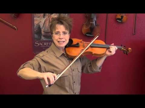 ▶ Obstacle # 1 to Good Violin Tone: Crooked Bow - YouTube