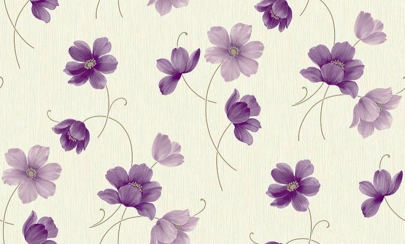 Layla Motif Plum (860703)   Arthouse Wallpapers   A Pretty All Over Floral