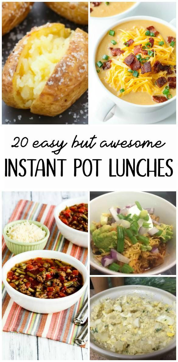 20 easy but awesome instant pot lunches instant pot lunches and easy 20 easy but awesome instant pot lunch recipes forumfinder Image collections