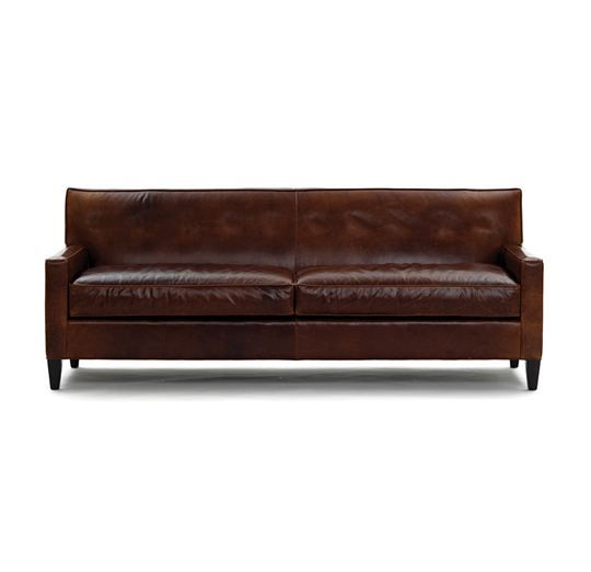 Incroyable Mitchell Gold / Bob Williams DEXTER LEATHER SOFA