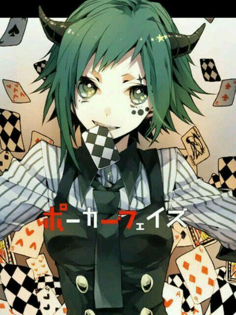 Megpoid Gumi Poker Face Song Vocaloid Vocaloid Pinterest