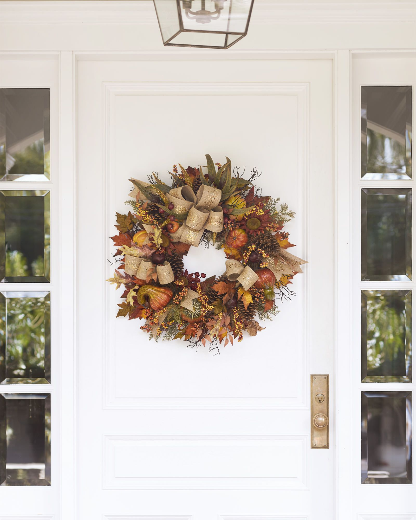 Fall Harvest Wreath, Garland and Swag | Balsam Hill | Harvest ...