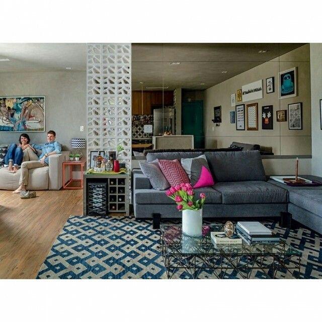 Living At Home De na home de hoje projeto da arquiteta gabimarques incrível a