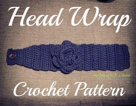 Head Wrap Crochet Pattern | Crochet crazy | Pinterest | Head wraps ...