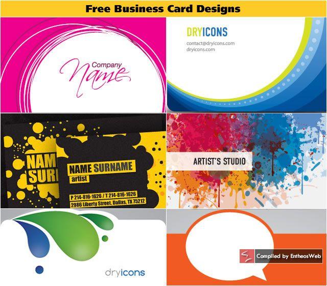 Kostenlose Visitenkarte Vorlage Ai Download Sowie