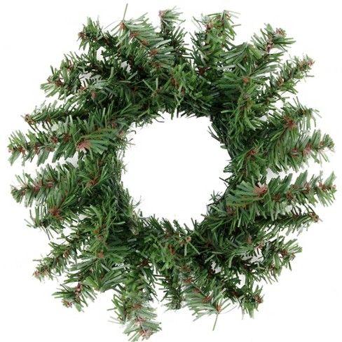 Northlight 5 Unlit Mini Pine Artificial Christmas Wreath Christmas Wreaths Artificial Christmas Wreaths Pine Wreath