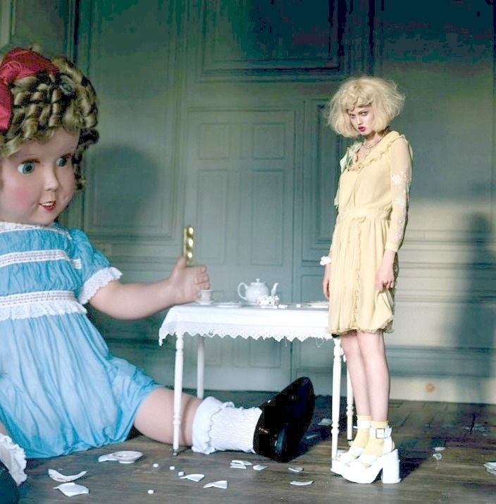 """the-front-row: Lindsey Wixson """"Like A Doll"""" in Vogue Italia January 2012 by Tim Walker for"""