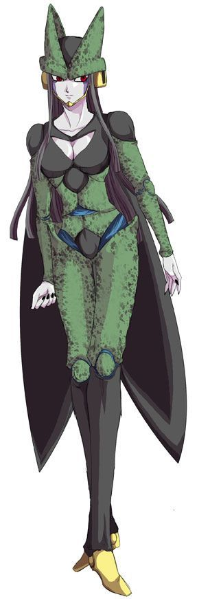 Cell female dragon ball z genderswap dragon ball - Dbz fantasy anime ...