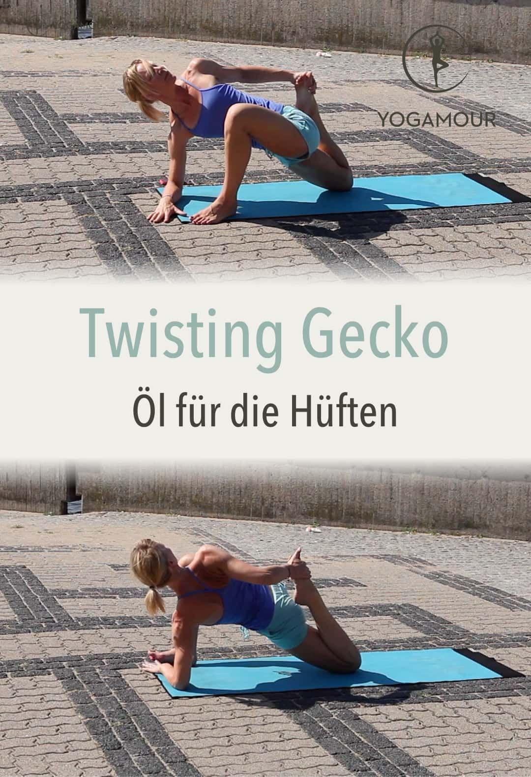 Öl für die Hüften 2 – Twisting Gecko -   - #Die #Exercise #für #gecko #huften #meditation #Öl #StudioWorkouts #twisting #YogaPoses