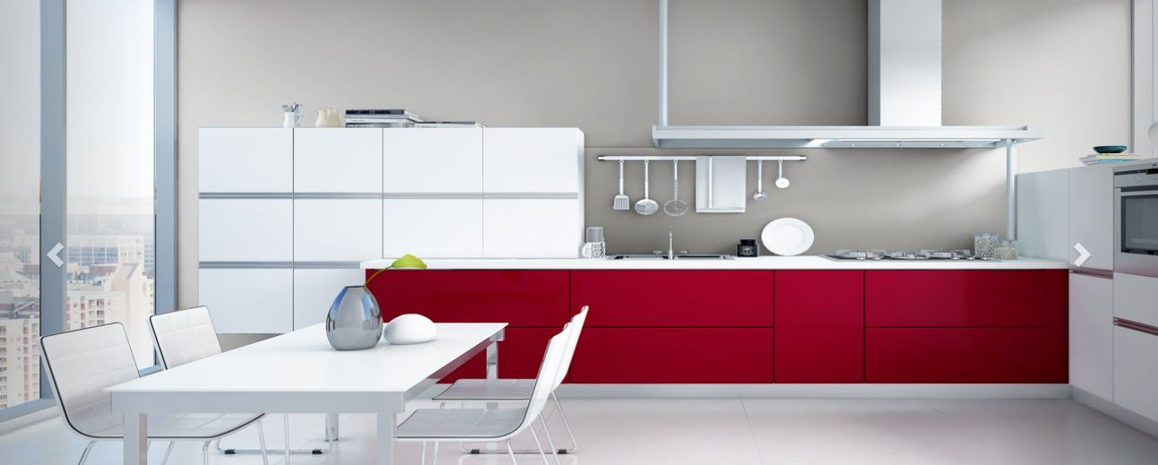 by adding some colours and textures to your kitchen you