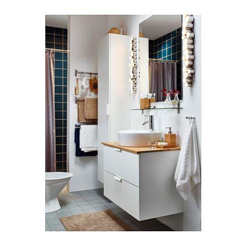 t rnviken lavabo poser blanc salle de bain pinterest salle de bain salle et salle de. Black Bedroom Furniture Sets. Home Design Ideas