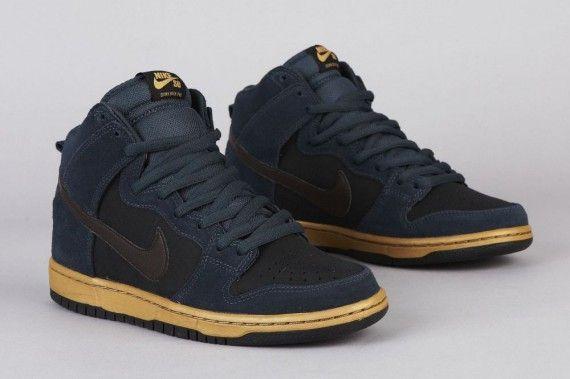 Nike Sb Dunk High Pro Classic Charcoal Tar Sneakers Men Fashion Nike Sb Dunks Nike