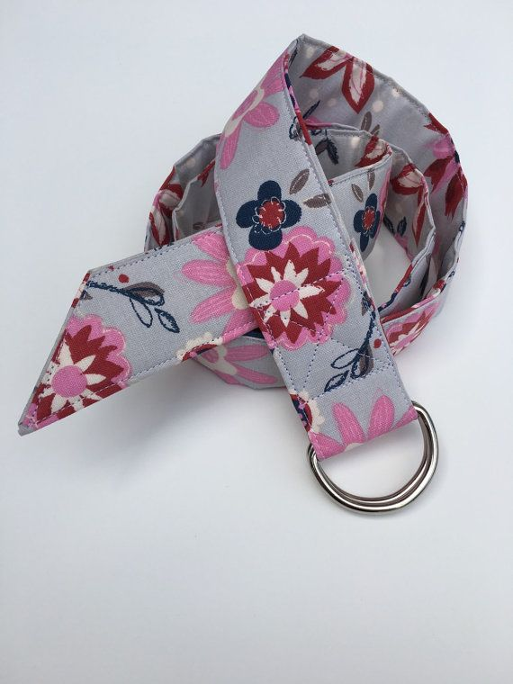 1 1/2 Wide Fabric Belt by MBPDesign on Etsy