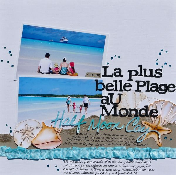 The+nicest+beach+on+earth - Scrapbook.com