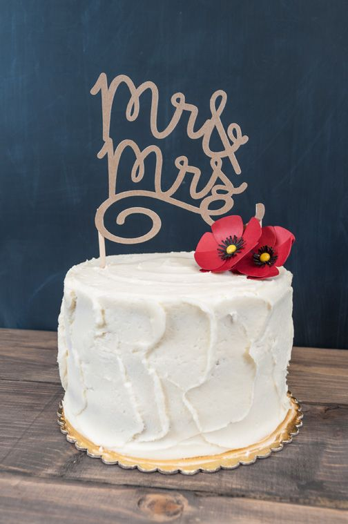 Wedding Cake Topper Wedding cake toppers Kraft paper and