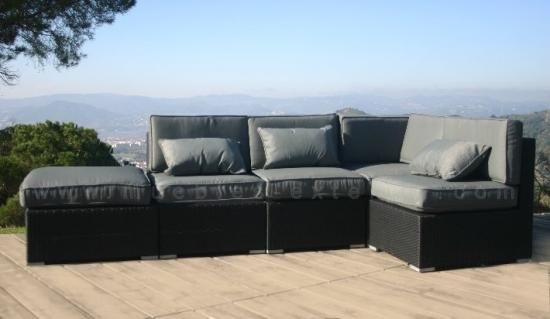 sofs de jardn y sofs de exterior baratos slo en muebles exterior ratn sinttico resina aluminio y a precios super rebajados - Sofas De Jardin Baratos