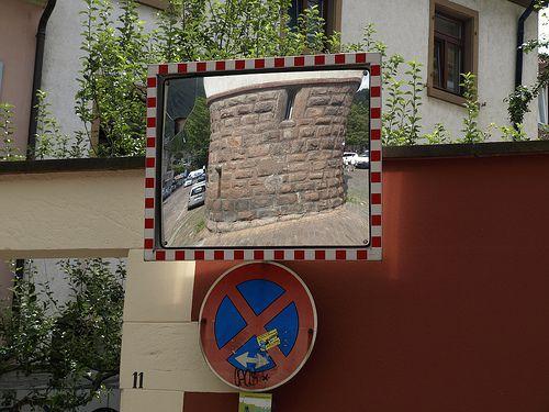 Mirror in Heidelberg