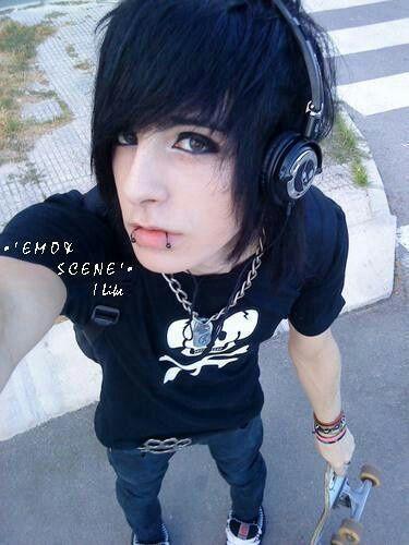 how to look like a cute emo boy