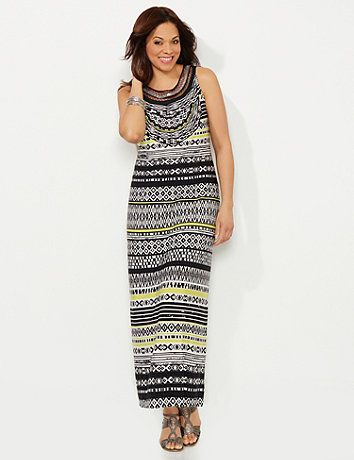 A Variety Of Striped Tribal Prints Mixed With Streaks Of Neon Color