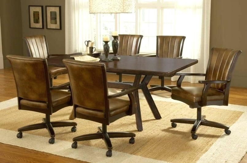Dinette Set With Roller Chairs Dining Room Sets Dining Room Chairs Upholstered Swivel Dining Chairs