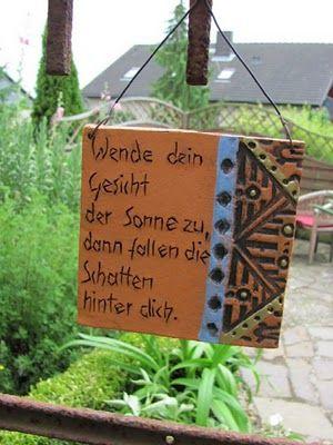 Gartenspruche Auf Gartenschildern Selbst Erstellen Oder Beim