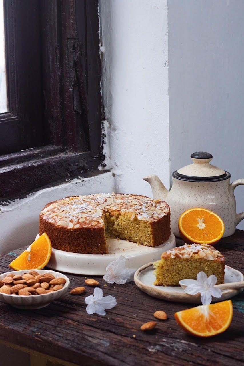 Best ever orange almond cake