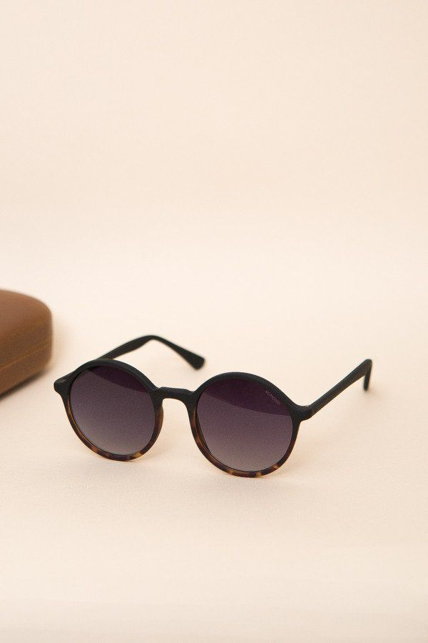 cda2877004ee The Madison sunglasses from Komono is a round frame that is far from  square. Small