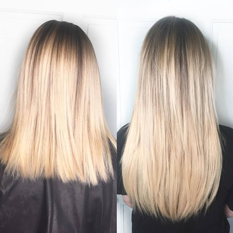 Before And After Natural Beaded Row Extensions Extensions