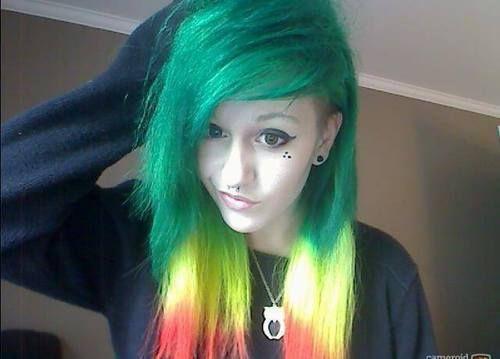 Rasta Dyed hair