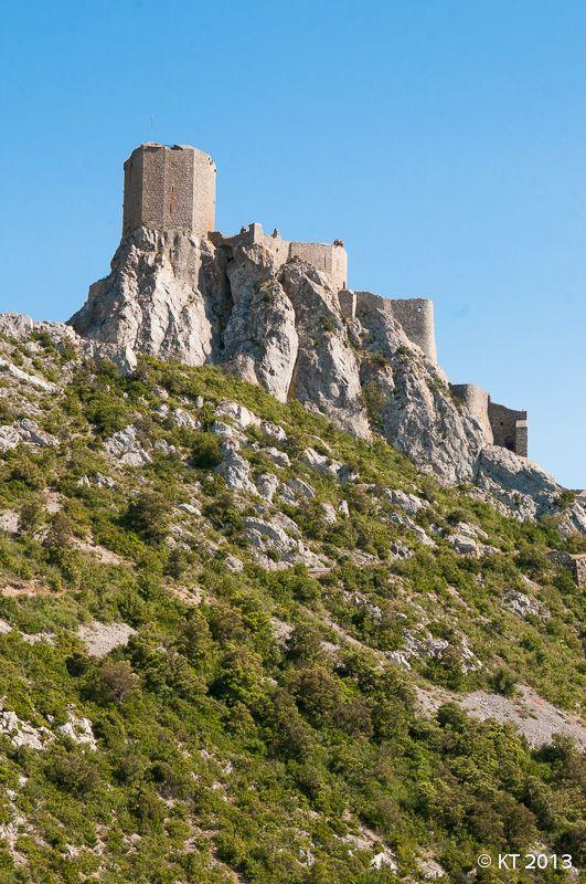 Château de Quéribus. Aude. Languedoc-Roussillon