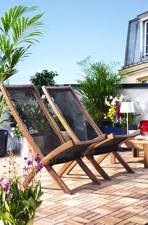 Ideas para decorar el jard n y la terraza con poco dinero for Ocio y jardin