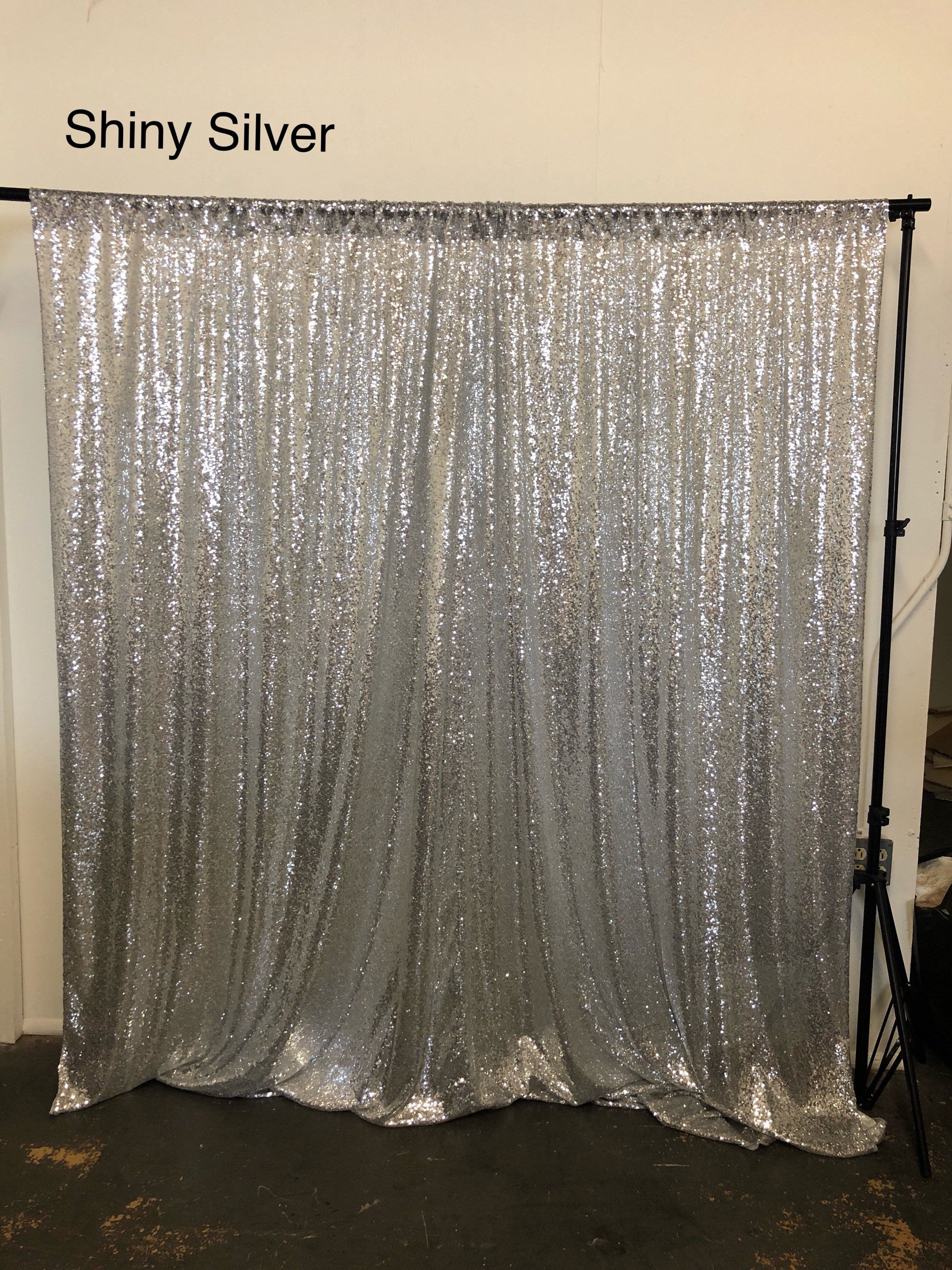 Sale Silver Sequin Photo Backdrop Sequence Wedding Photo Booth Photography Background Glitz Silver Sequence Fab Sequin Backdrop Photo Backdrop Backdrops