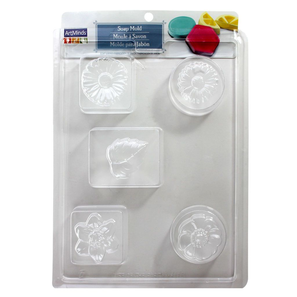 Flowers & Leaves Soap Molds by ArtMinds™