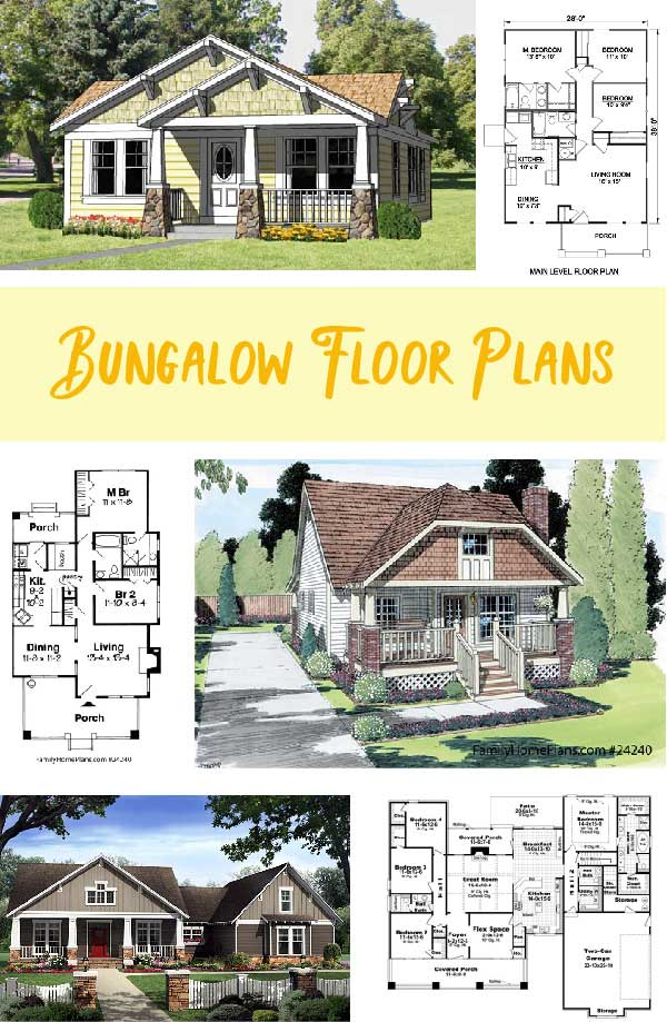 Bungalow Floor Plans Bungalow Floor Plans Bungalow House Plans House With Porch