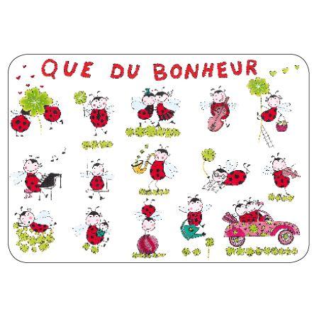 Cado Carte Que Du Bonheur : carte postale que du bonheur paillettes de elisabeth ~ Dailycaller-alerts.com Idées de Décoration