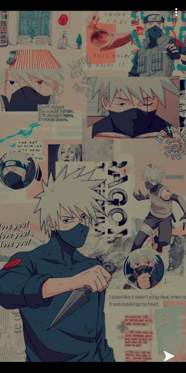 Download Kakashi Aesthetic Wallpaper By Supremelyawesome C3 Free On Zedge Now Browse Millions Of Popular Arte Naruto Personagens De Anime Naruto Kakashi