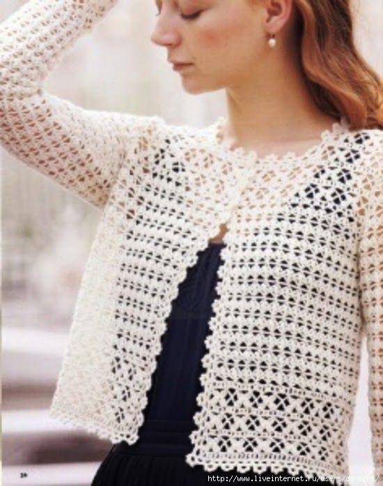 Todo crochet | Tops de ganchilloyo | Pinterest | Crochet, Crochet ...