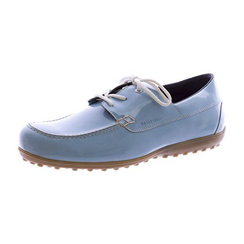 BALLY Golf Women Mocc Plus Golf Shoes 10 Light Blue     Check out the image  by visiting the link. 757db98dc69d