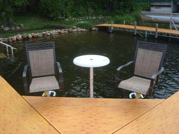 Gentil Boat Dock Furniture