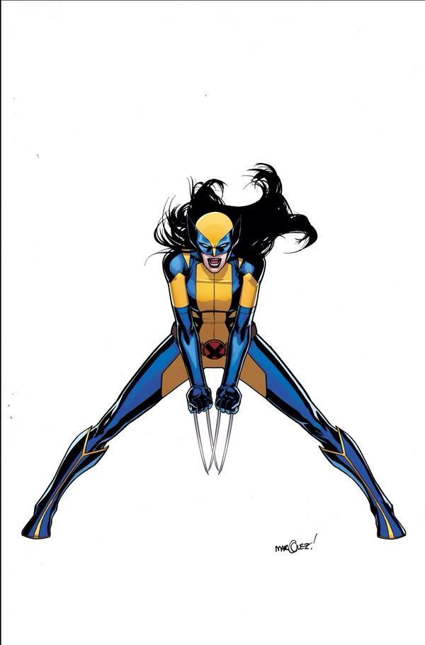 All New, All Different Marvel - Wolverine - X-23 by David Marquez *