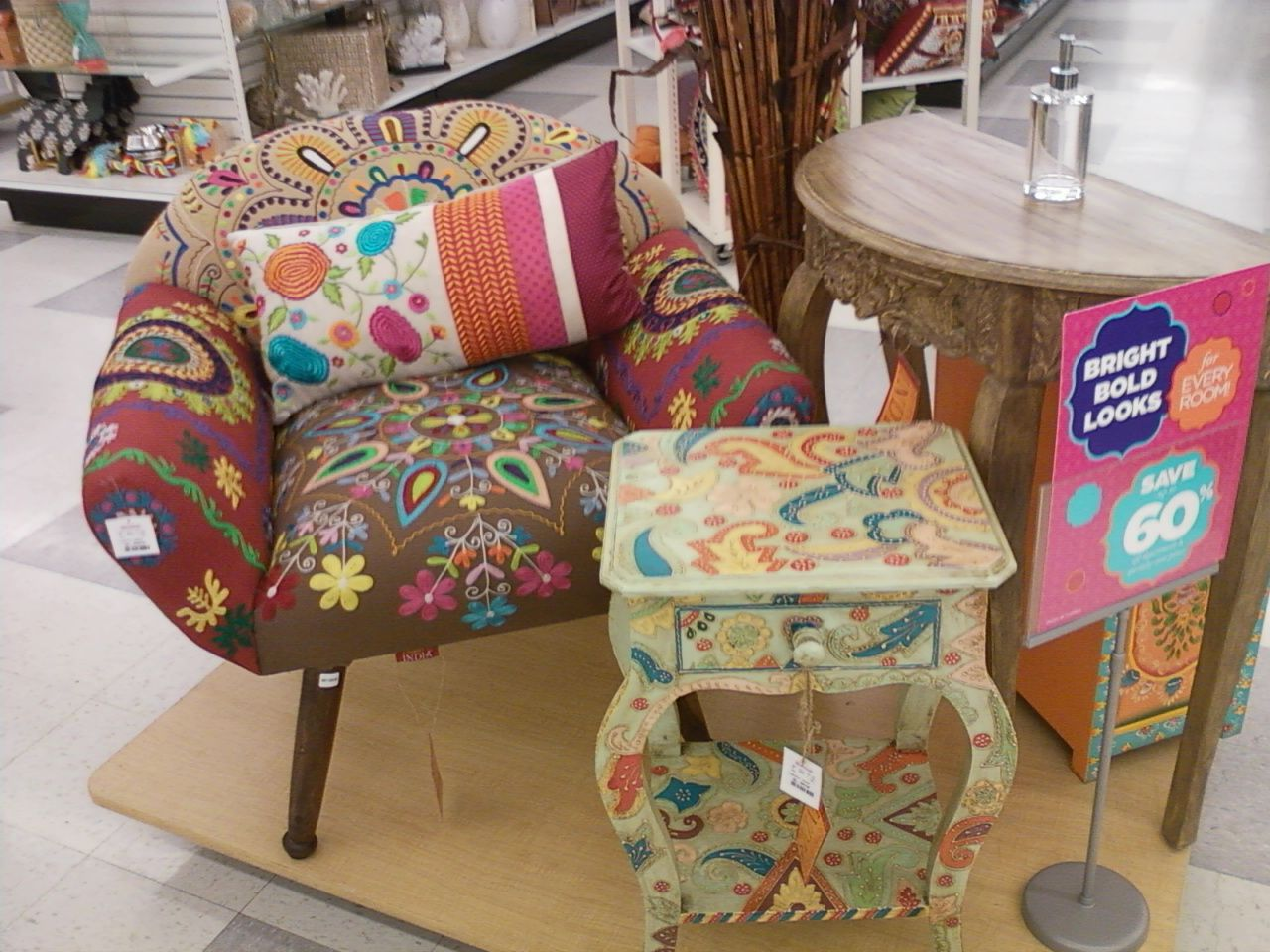 Superior India Furniture TJ Maxx