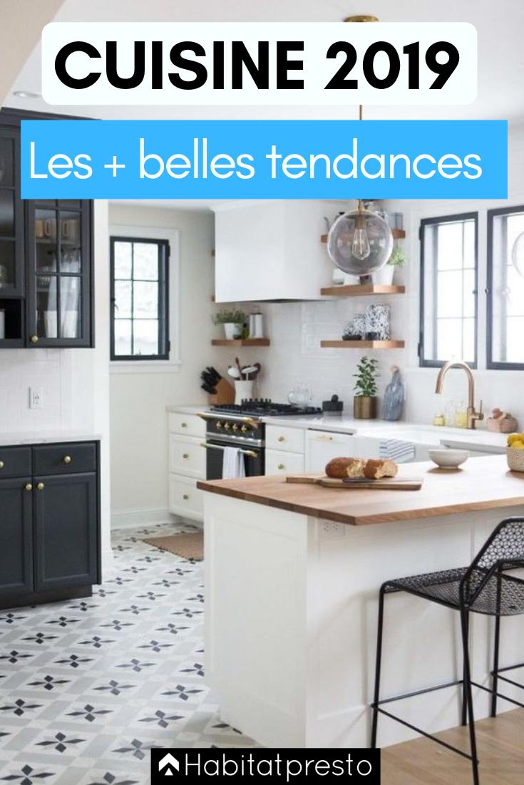 tendances cuisine 2019 5 id es d co adopter ilots de. Black Bedroom Furniture Sets. Home Design Ideas