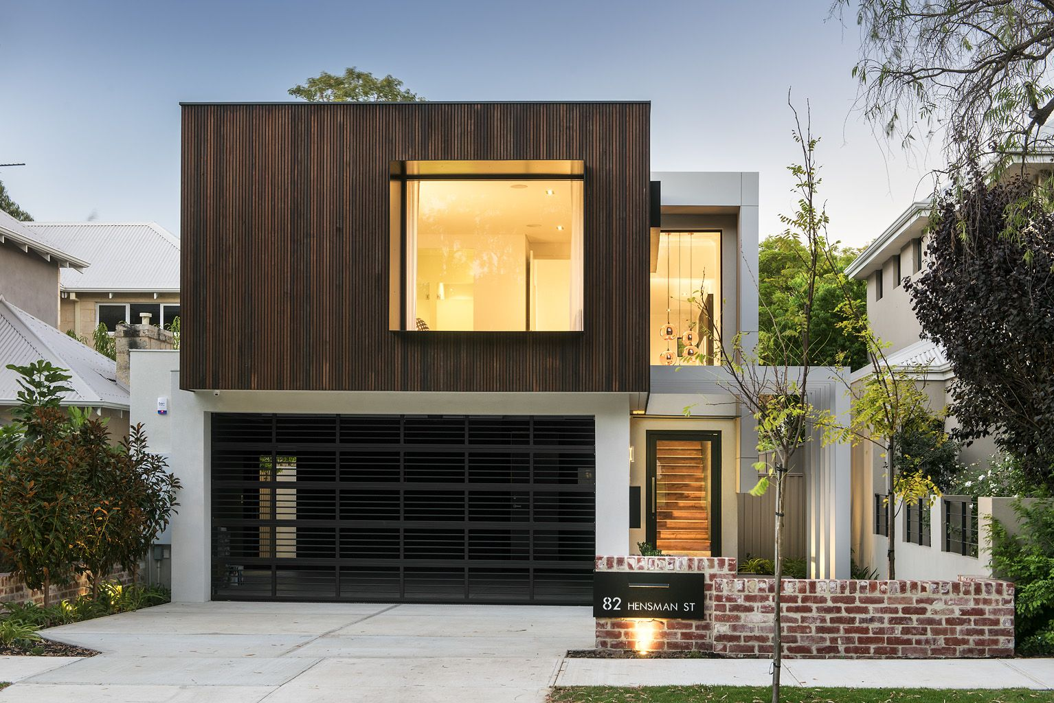 This Beautifully Crafted Elevation Exudes Industrial Style
