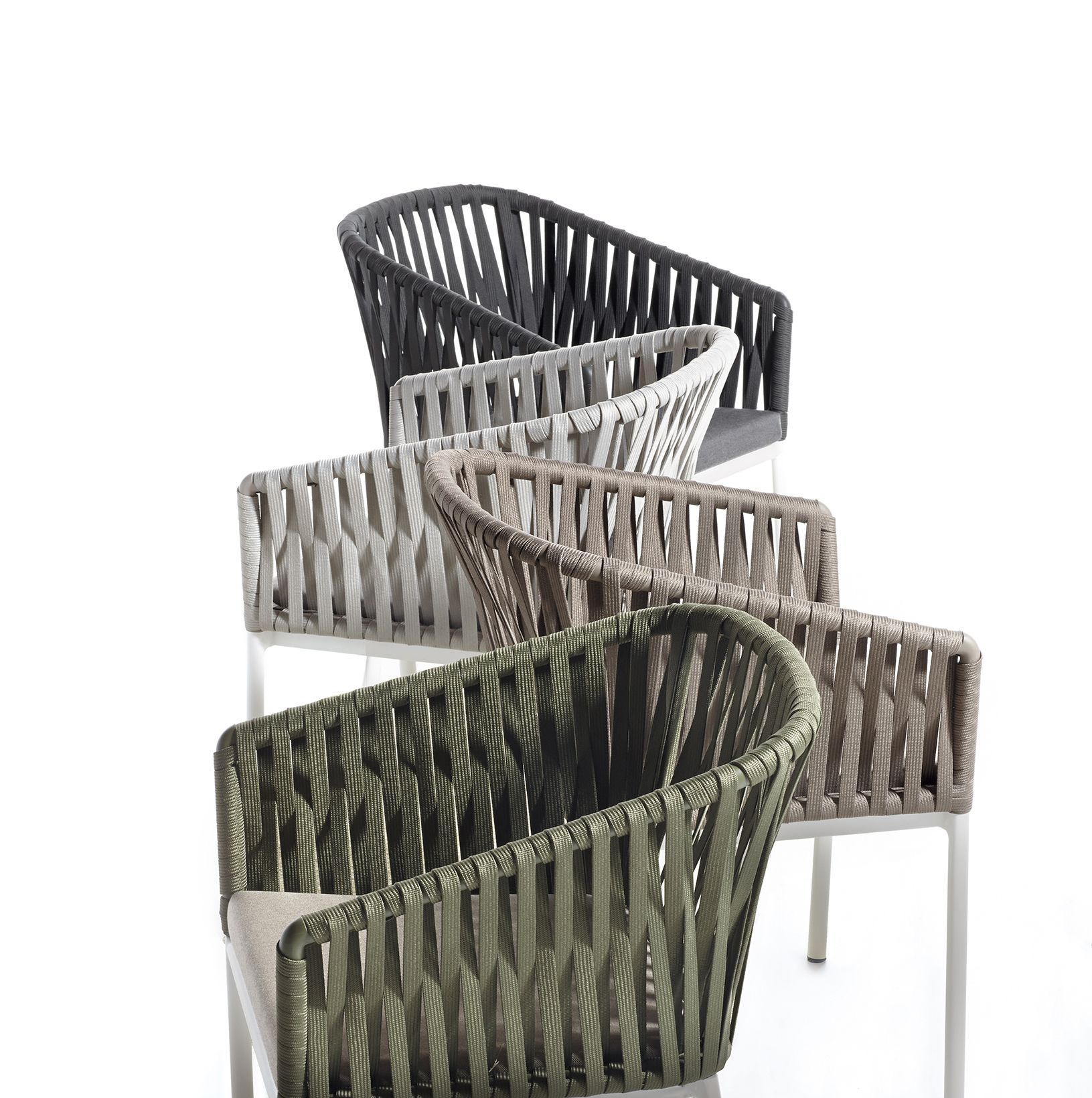 Bitta modern patio furniture by rodolfo dordoni - Kettal Bitta New Rope Colors Design By Rodolfo Dordoni Outdoor Furnitureoutdoor