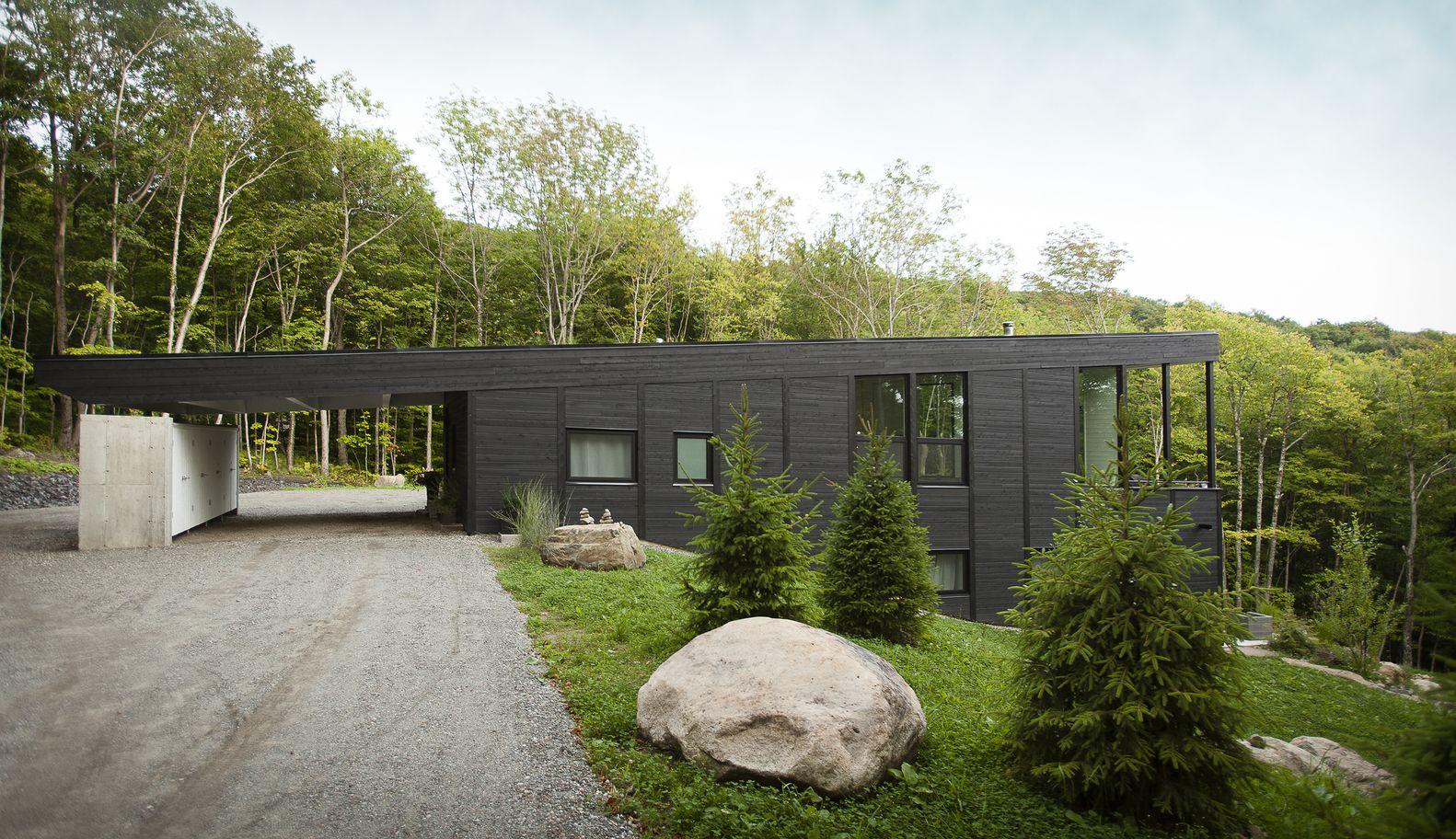 Gallery Of Cottage In Sutton / Paul Bernier Architecte   2 Moderne  Architektur, Wohnen,