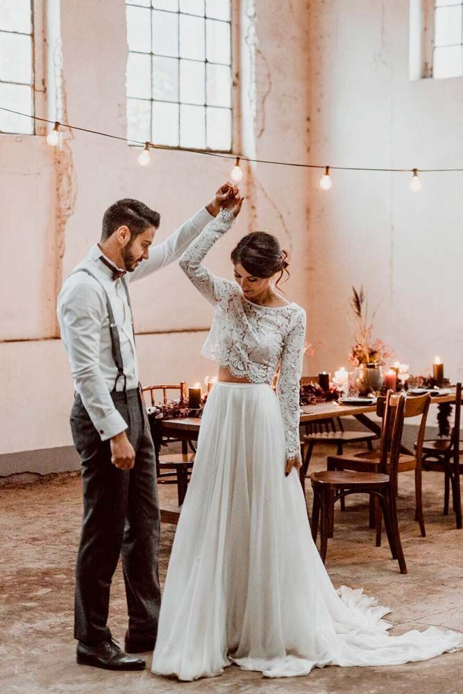 30 Magical Long Sleeve Wedding Dresses For Your Wedding