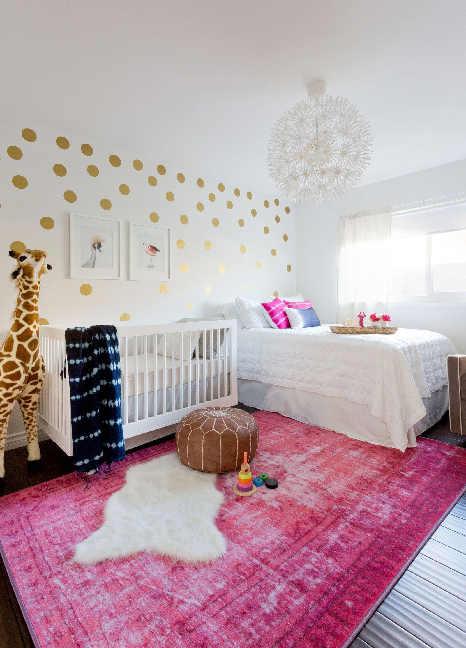 Boho Baby Nursery Love That This Was Created For A Budget Of 1500 Including Furniture