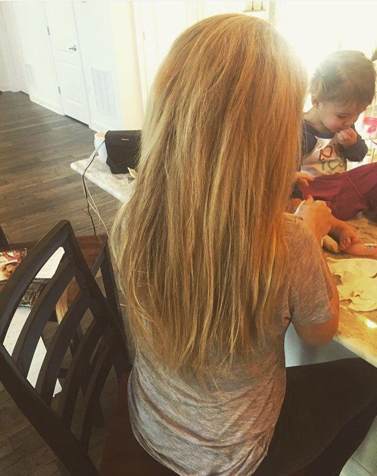 Jessie James Decker Mama And New Hair Extensions Jessie James