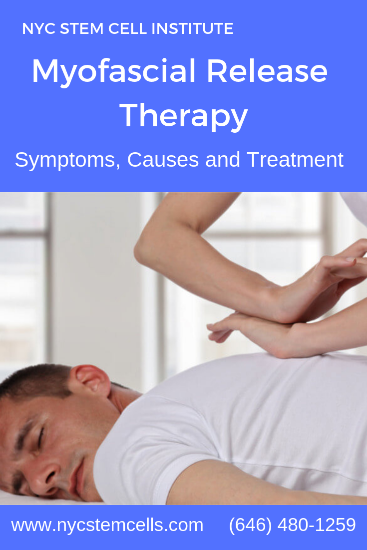 Myofascial release is a manual therapy technique used by